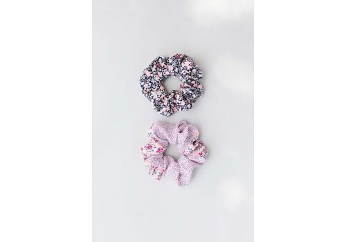 Summer Floral Scrunchies