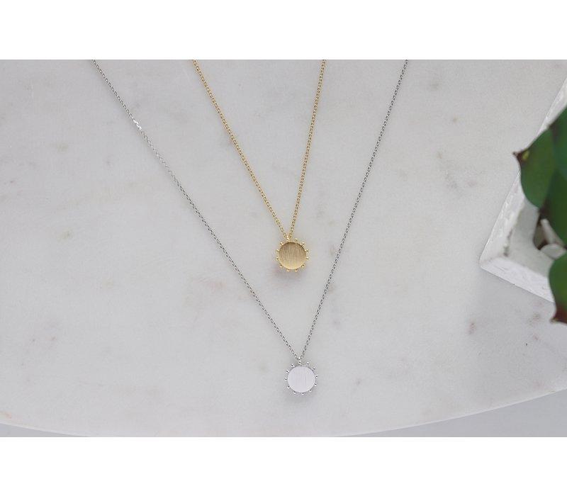 Sun Dial Necklace