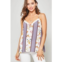 Floral & Lace Camisole