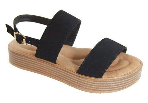 Black Platform Sandals
