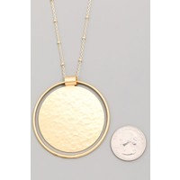 Simple Circle Necklaces