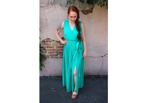 Kelly Green Maxi Dress