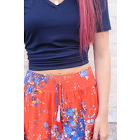 Bohemian Collect Floral Skirt