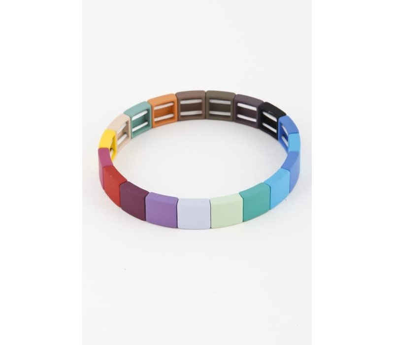 Colorful Brick Bracelets