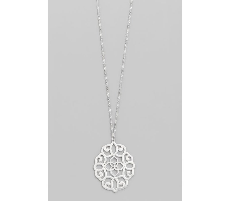 Filigree Pendant Necklace
