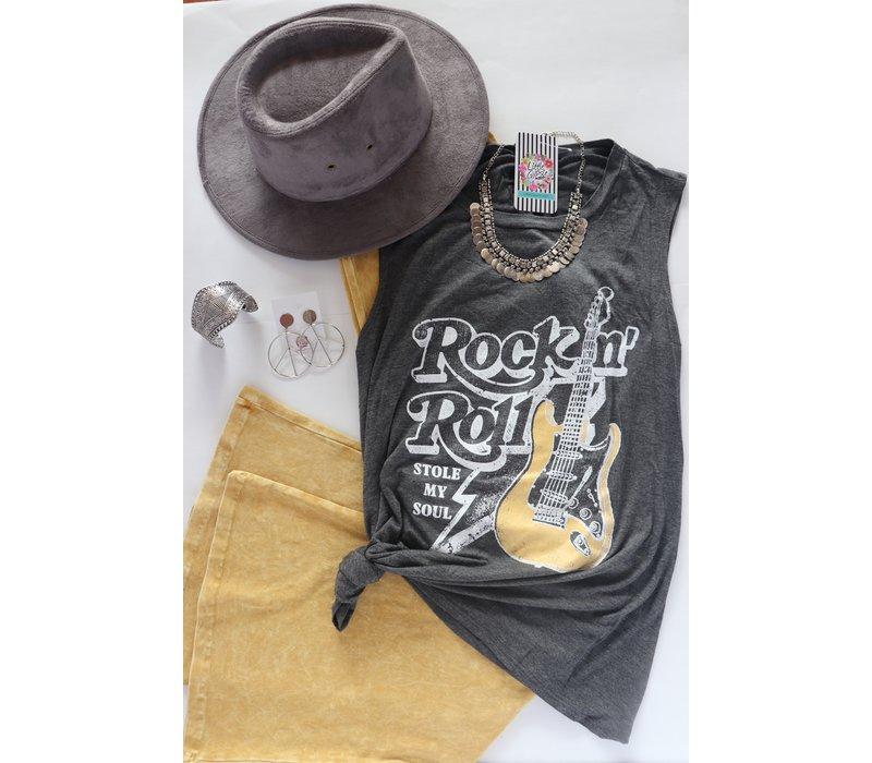 Rock & Roll Boyfriend Tank