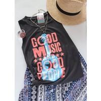 Good Music & Good People Boyfriend Tank