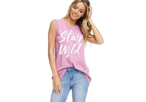 Stay Wild Arrow Tank