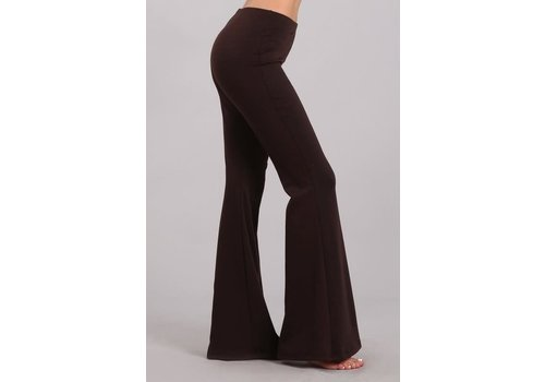 Chocolate Flare Pants