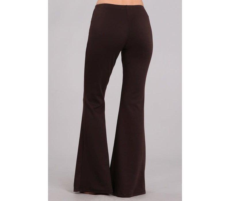 Chocolate Flare Pants