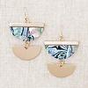 Abalone Dangle Earrings