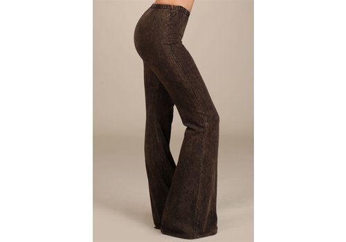 NEW Brown Mineral Wash Bell Bottoms (Small-Large)