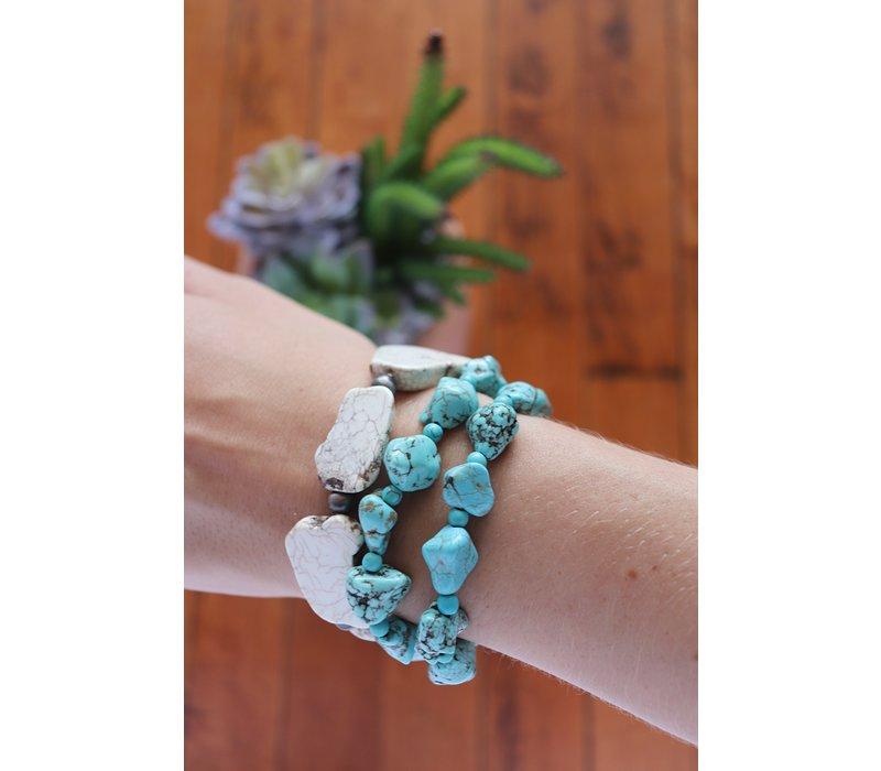 Stretch Stone Bracelets