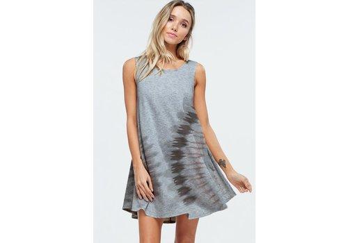 Southwest Tie Dye Swing Dress