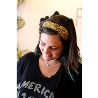 Leopard Knotted Headbands