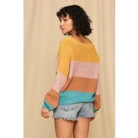SHOP FAV' Fall Colorblock Sweater