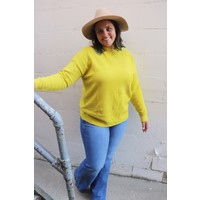 Skyler Sweater in Chartreuse