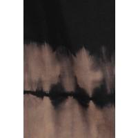 Vintage Black + Brown Tie Dye Bell Bottoms (S-3X)