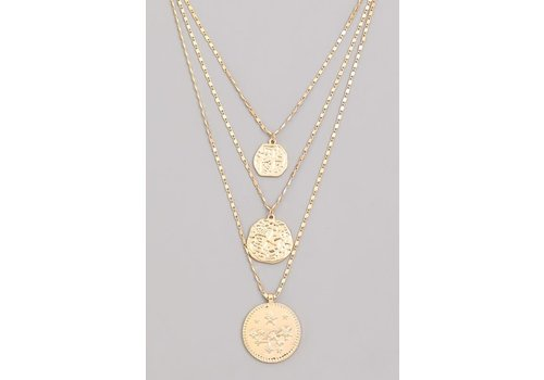 Cosmic Child Coin Necklace