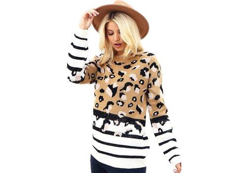 Neapolitan Leopard Sweater
