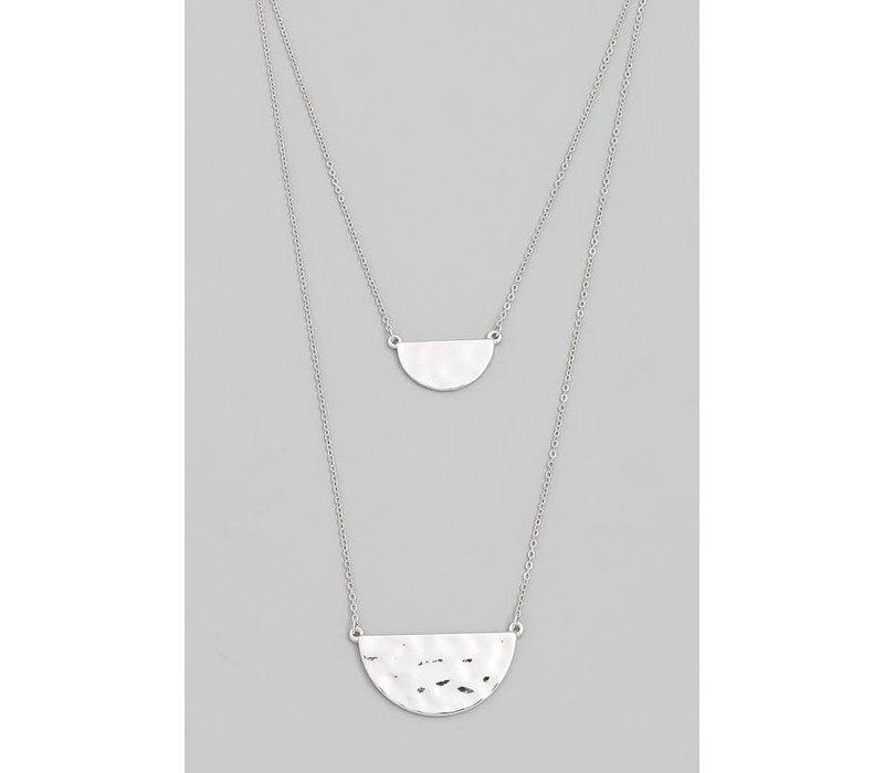 Double Half Circle Necklaces