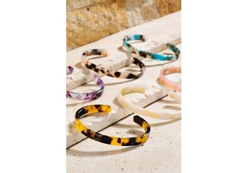 Skinny Acrylic Tortoise Cuffs