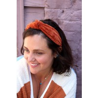 Knotted Chenille Headbands (3 Colors)