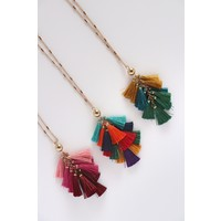 Fall Tassel Necklaces (3 Colors)