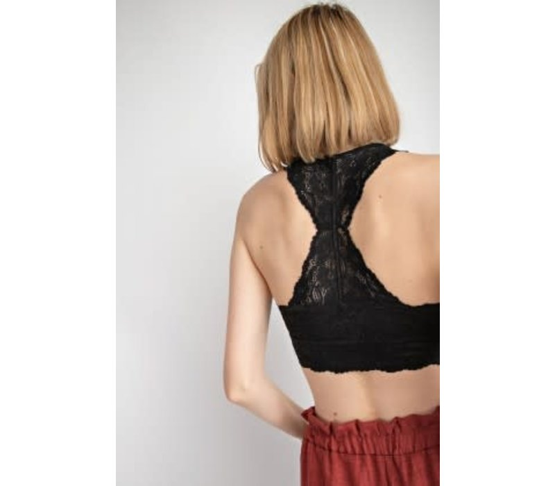 BEST SELLER: Padded Lace Bralettes (3 Colors)