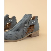 Charlotte Side Lace Booties