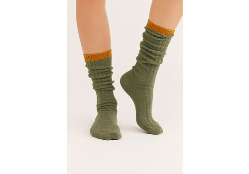 Koda Cable Slouchy Socks by Free People