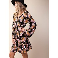 Flower Child Shift Dress