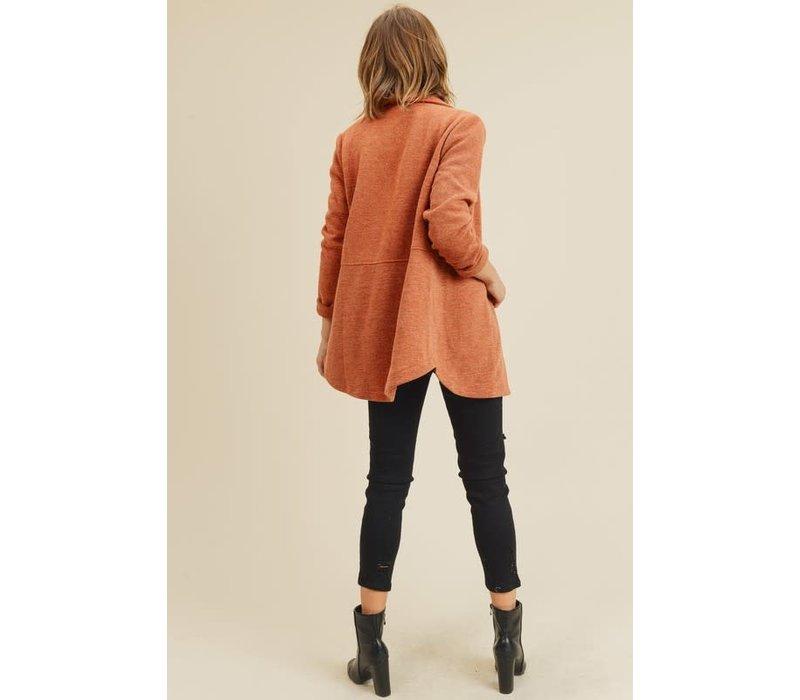 Maple Knit Blazer Jacket