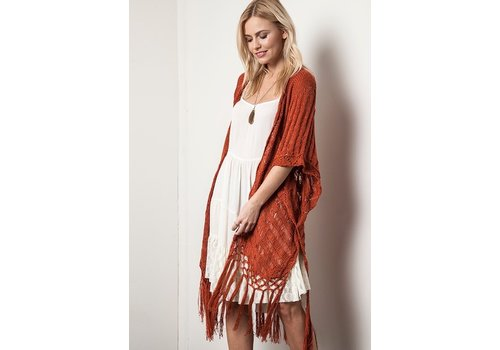 Crochet Kimonos (3 Colors)