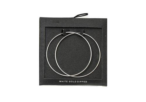 Gold Dip Hoop Earrings