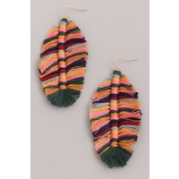 Wild & Free Fringe Earrings