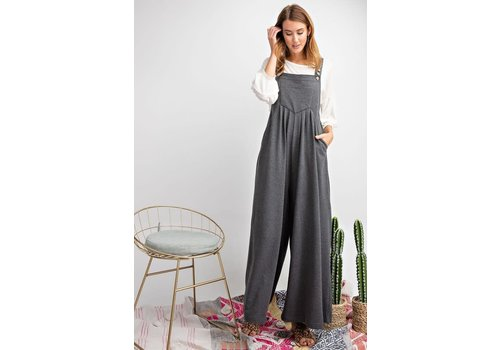 Just Because Wide Leg Jumpsuit
