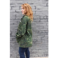 Seize the Day Camo Jacket by Free People
