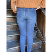 Curvy Lovers Knot Super High Denim by Free People