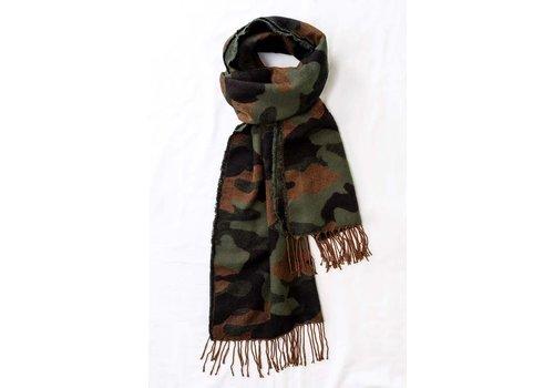 Camo Knit Scarf