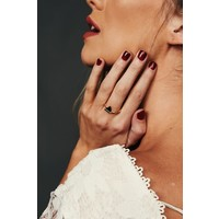Triangle Stone Ring (3 Colors)