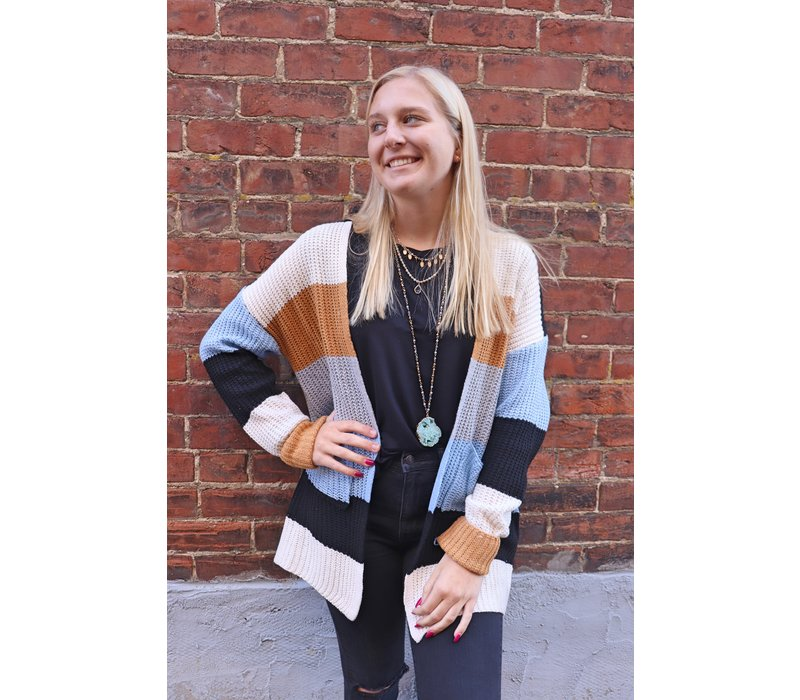 Claire Pocket Sweater Cardigan