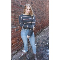 Boyfriend Stripe Sweater