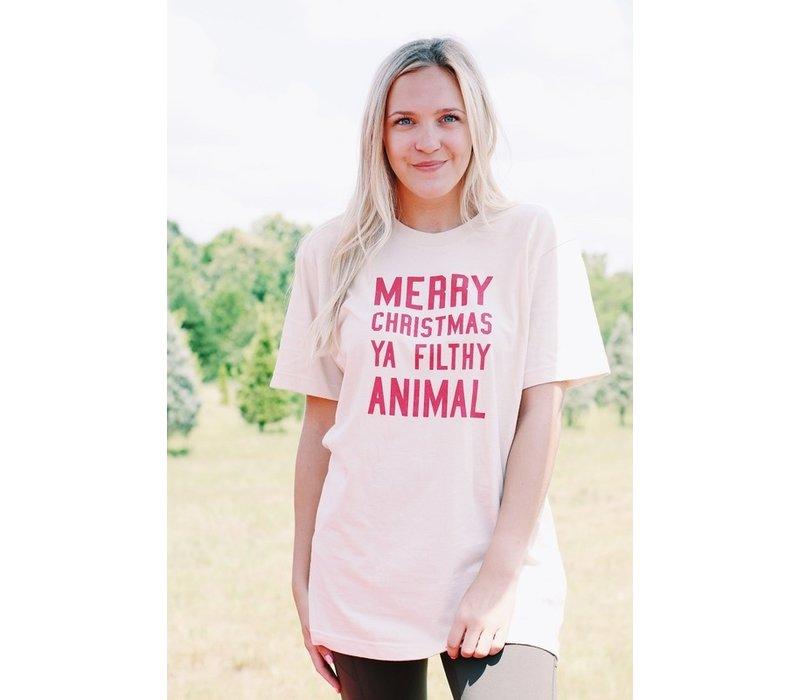 Mery Christmas Ya Filthy Animal