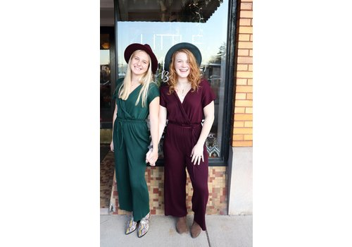 Holiday Party Jumpsuits (2 Colors)