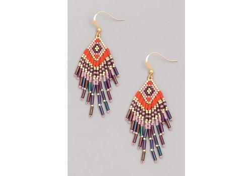 Tribeca Beaded Earrings