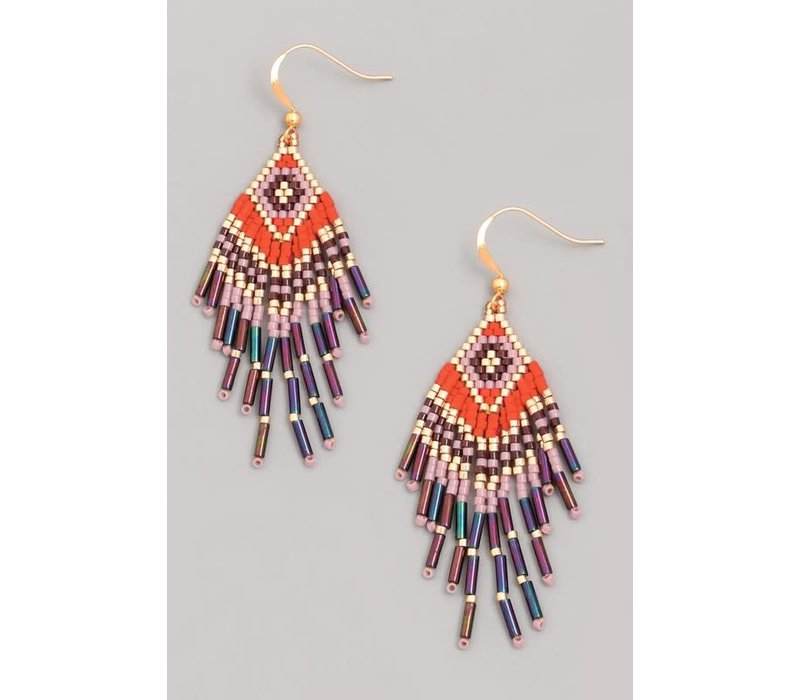 Tribeca Beaded Earrings