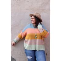 Colorblock Chloe Sweater