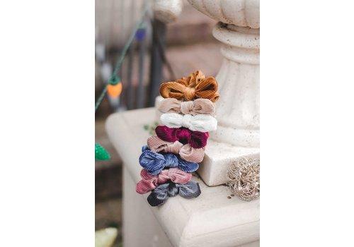 Velvet Bow Scrunchies
