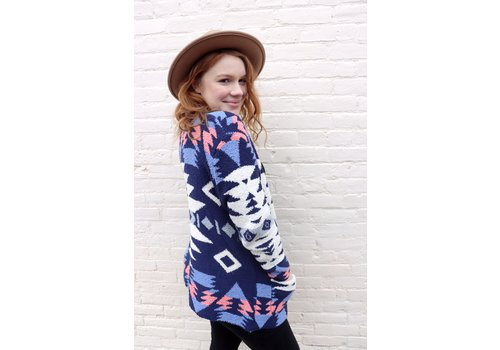 Blue Lagune Sweater Cardi